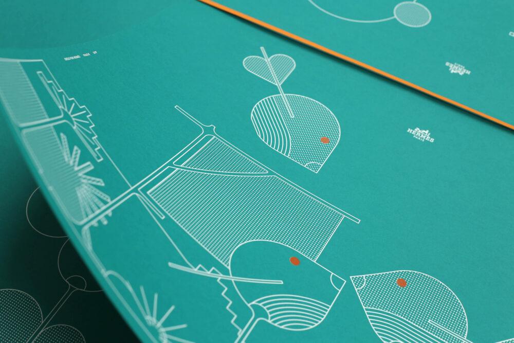 Prints for Hermès